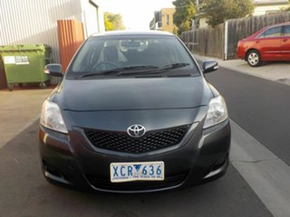2009 Toyota Yaris NCP93R 08 Upgrade YRS Grey 4 Speed Automatic Sedan.