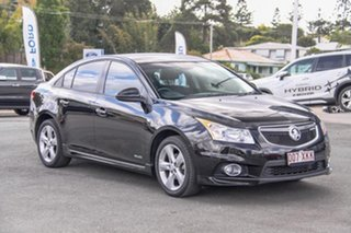 2012 Holden Cruze JH Series II MY13 SRi-V Black 6 Speed Manual Sedan