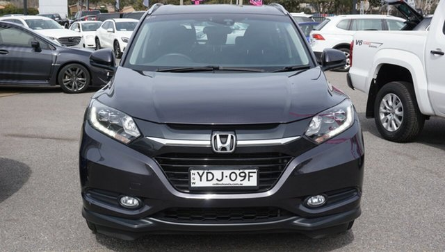 Used Honda HR-V MY15 VTi-S, 2015 Honda HR-V MY15 VTi-S Black 1 Speed Constant Variable Hatchback