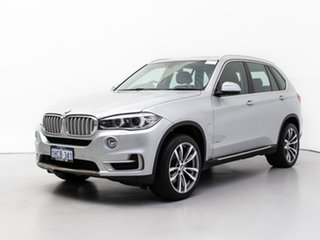 2014 BMW X5 F15 sDrive 25D Silver 8 Speed Automatic Wagon.