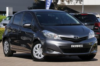 2014 Toyota Yaris NCP131R YRS Grey 4 Speed Automatic Hatchback.
