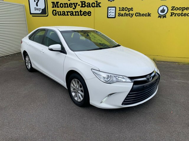 Used Toyota Camry ASV50R Altise Launceston, 2015 Toyota Camry ASV50R Altise White 6 Speed Sports Automatic Sedan