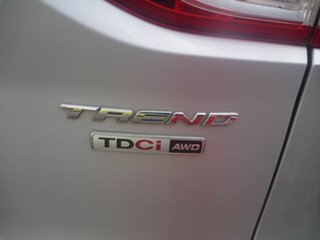 2013 Ford Kuga TF Trend PwrShift AWD Silver 6 Speed Automatic Wagon