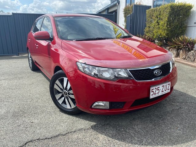 Used Kia Cerato TD MY13 SI, 2013 Kia Cerato TD MY13 SI Red 6 Speed Manual Hatchback