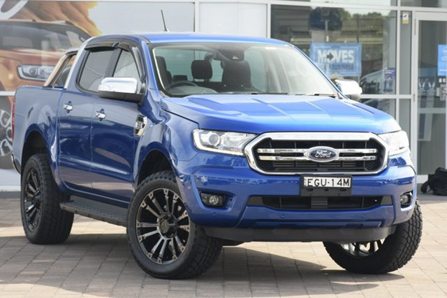 Used Ford Ranger PX MkIII 2019.00MY XLT, 2019 Ford Ranger PX MkIII 2019.00MY XLT Blue 10 Speed Sports Automatic Double Cab Pick Up