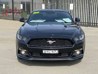2017 Ford Mustang FM 2017MY Fastback Black 6 Speed Manual Fastback.