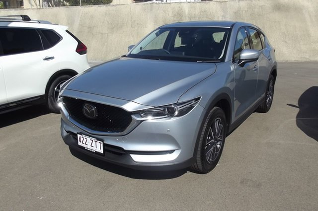 Used Mazda CX-5 KF4WLA GT SKYACTIV-Drive i-ACTIV AWD South Gladstone, 2019 Mazda CX-5 KF4WLA GT SKYACTIV-Drive i-ACTIV AWD Silver 6 Speed Sports Automatic Wagon