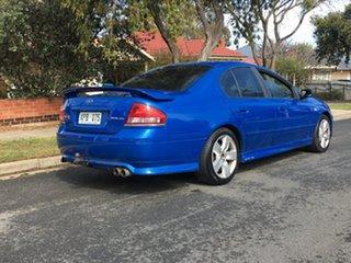 2006 Ford Falcon BF Mk II XR6 Blue 4 Speed Sports Automatic Sedan.