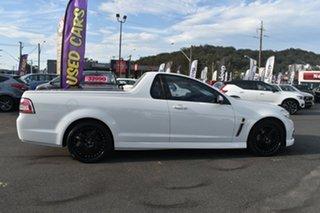 2015 Holden Ute VF MY15 SV6 Ute White 6 Speed Manual Utility.