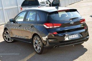 2019 Hyundai i30 PD.3 MY20 N Line D-CT Black 7 Speed Sports Automatic Dual Clutch Hatchback.
