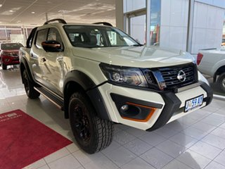 2019 Nissan Navara D23 S4 MY19 N-TREK Warrior White Diamond 7 Speed Sports Automatic Utility.