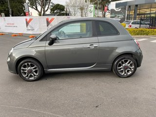 2014 Fiat 500 Series 1 S Dualogic Grey 5 Speed Sports Automatic Single Clutch Hatchback