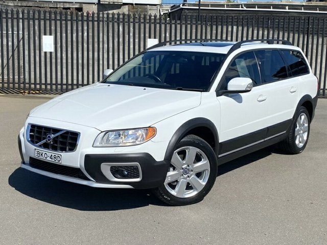 Used Volvo XC70 BZ MY09 LE, 2008 Volvo XC70 BZ MY09 LE White 6 Speed Sports Automatic Wagon