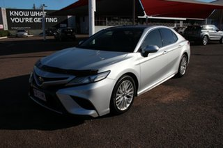 2017 Toyota Camry ASV70R SL Silver 6 Speed Automatic Sedan.