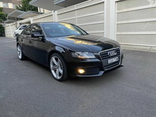 2012 Audi A4 B8 8K MY12 Multitronic Black 8 Speed Constant Variable Sedan.