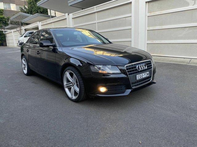 Used Audi A4 B8 8K MY12 Multitronic, 2012 Audi A4 B8 8K MY12 Multitronic Black 8 Speed Constant Variable Sedan