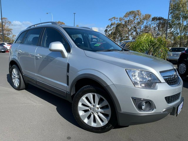 Used Holden Captiva CG MY14 5 LT, 2014 Holden Captiva CG MY14 5 LT Silver 6 Speed Manual Wagon