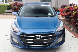 2015 Hyundai i30 GD3 Series II MY16 Active Blue 6 Speed Sports Automatic Hatchback.