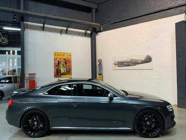 Used Audi RS5 8T MY14 S Tronic Quattro, 2014 Audi RS5 8T MY14 S Tronic Quattro Grey 7 Speed Sports Automatic Dual Clutch Coupe