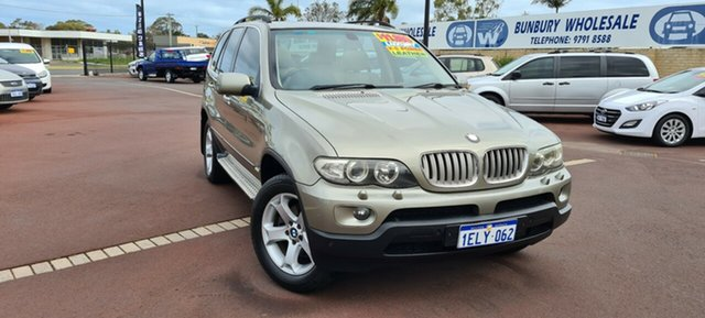 Used BMW X5 E53 MY05 Steptronic East Bunbury, 2006 BMW X5 E53 MY05 Steptronic Bronze 6 Speed Sports Automatic Wagon