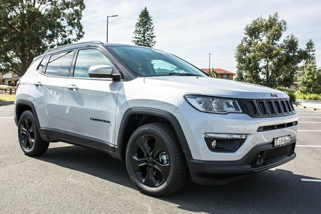 Demo Jeep Compass M6 MY20 Night Eagle FWD Port Macquarie, 2020 Jeep Compass M6 MY20 Night Eagle FWD Mineral Grey 6 Speed Automatic Wagon