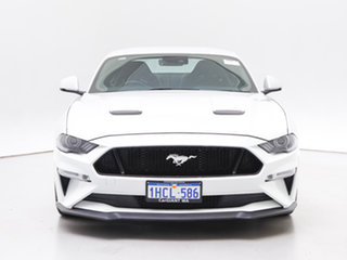 2019 Ford Mustang FN Fastback GT 5.0 V8 Oxford White 6 Speed Manual Coupe.