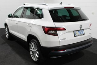 2018 Skoda Karoq NU MY18 110TSI DSG FWD White 7 Speed Sports Automatic Dual Clutch Wagon
