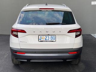2020 Skoda Karoq NU MY20.5 110TSI DSG FWD White 7 Speed Sports Automatic Dual Clutch Wagon