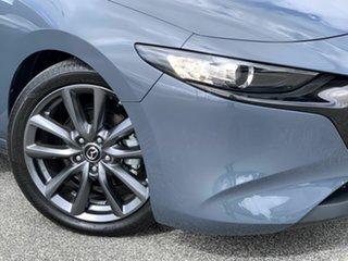 2019 Mazda 3 BP2HLA G25 SKYACTIV-Drive GT Grey 6 Speed Sports Automatic Hatchback.