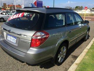 2007 Subaru Outback MY07 2.5i AWD Silver 4 Speed Auto Elec Sportshift Wagon.