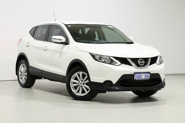 Used Nissan Qashqai J11 ST, 2015 Nissan Qashqai J11 ST White Continuous Variable Wagon