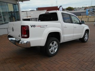 2019 Volkswagen Amarok 2H MY19 TDI550 4MOTION Perm Sportline Candy White 8 Speed Automatic Utility