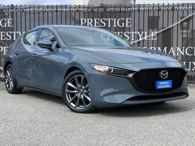 Used Mazda 3 BP2HLA G25 SKYACTIV-Drive GT, 2019 Mazda 3 BP2HLA G25 SKYACTIV-Drive GT Grey 6 Speed Sports Automatic Hatchback