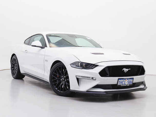 Used Ford Mustang FN Fastback GT 5.0 V8, 2019 Ford Mustang FN Fastback GT 5.0 V8 Oxford White 6 Speed Manual Coupe