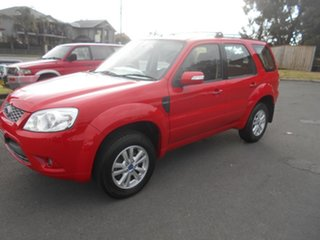 2011 Ford Escape ZD Red 4 Speed Automatic Wagon