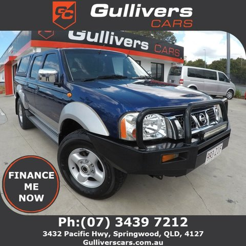 Used Nissan Navara  , 2005 Nissan Navara ST-R D22 Blue 5 Speed Manual Dual Cab