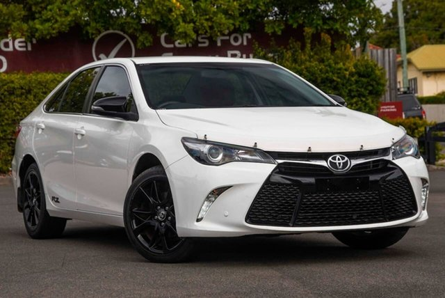 Used Toyota Camry ASV50R RZ, 2016 Toyota Camry ASV50R RZ White 6 Speed Sports Automatic Sedan