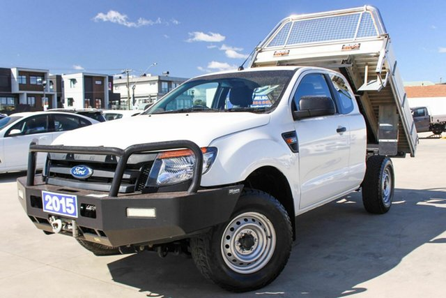 Used Ford Ranger PX XL, 2015 Ford Ranger PX XL White 6 Speed Manual Utility