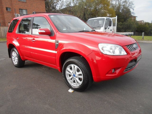Used Ford Escape ZD , 2011 Ford Escape ZD Red 4 Speed Automatic Wagon