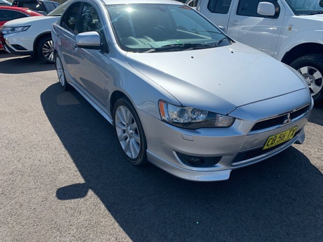 Used Mitsubishi Lancer CJ MY10 Aspire, 2010 Mitsubishi Lancer CJ MY10 Aspire Silver 6 Speed Constant Variable Sedan