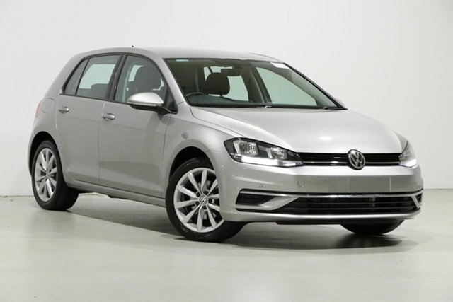 Used Volkswagen Golf AU MY18 110 TSI Comfortline, 2017 Volkswagen Golf AU MY18 110 TSI Comfortline Silver 7 Speed Auto Direct Shift Hatchback