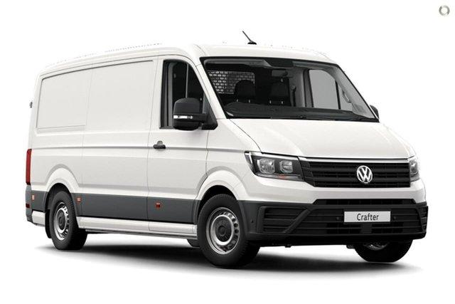 Demo Volkswagen Crafter SY1 MY19 35 MWB FWD TDI410, 2019 Volkswagen Crafter SY1 MY19 35 MWB FWD TDI410 White 8 Speed Automatic Van