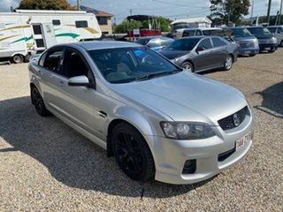 2011 Holden Commodore VE II MY12 SV6 Silver 6 Speed Automatic Sedan.