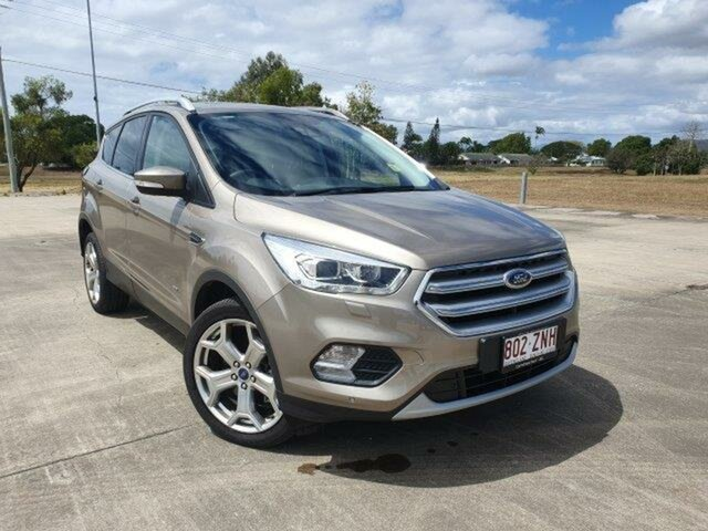 Used Ford Escape ZG 2018.75MY Titanium Townsville, 2018 Ford Escape ZG 2018.75MY Titanium Diffused Silver 6 Speed Sports Automatic SUV