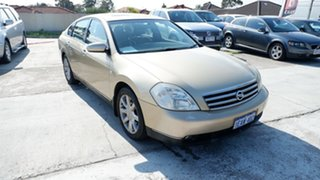 2005 Nissan Maxima J31 MY05 TI-L Gold 4 Speed Automatic Sedan.