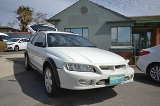 2006 Holden Adventra VZ SX6 White 5 Speed Automatic Wagon.