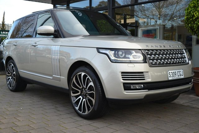 Used Land Rover Range Rover L405 13MY SDV8 Vogue SE, 2013 Land Rover Range Rover L405 13MY SDV8 Vogue SE Champagne Beige 8 Speed Sports Automatic Wagon
