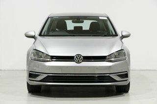 2017 Volkswagen Golf AU MY18 110 TSI Comfortline Silver 7 Speed Auto Direct Shift Hatchback.