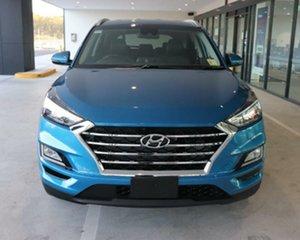 2020 Hyundai Tucson TL3 MY20 Elite D-CT AWD Aqua Blue 7 Speed Sports Automatic Dual Clutch Wagon.