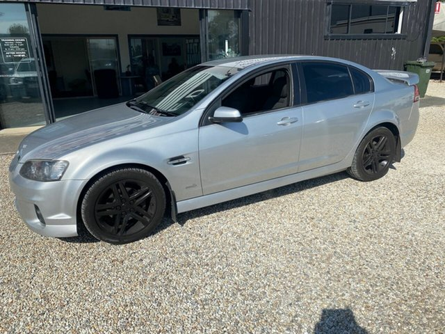 Used Holden Commodore VE II MY12 SV6, 2011 Holden Commodore VE II MY12 SV6 Silver 6 Speed Automatic Sedan